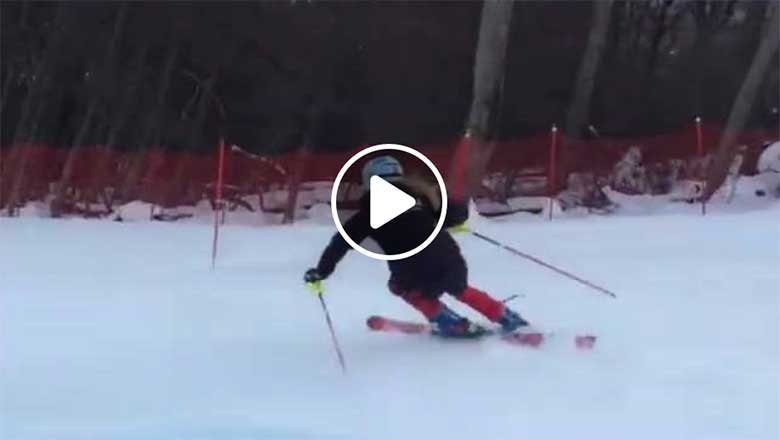 Watch videos of ski racers free skiing - Elite Skiing