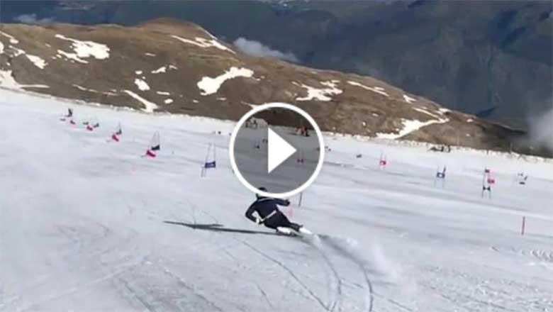 Elite Skiing Videos - Racers Free Skiing
