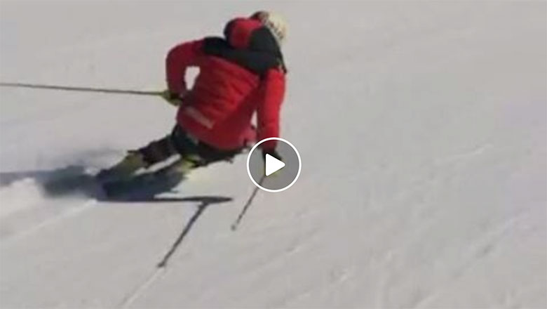 Dries Van den Broecke's perfect carves - EliteSkiing.com