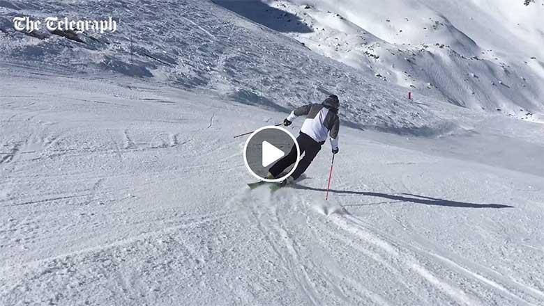 Watch Ski Racers Free Skiing - Alexis Pinterault - EliteSkiing.com