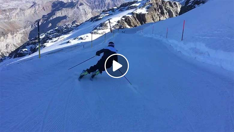 Watch Andrea Ellenberger Free Ski - EliteSkiing.com