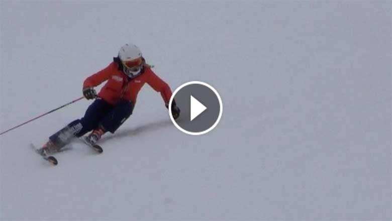 Elite Skiing Videos - Racers Free Skiing