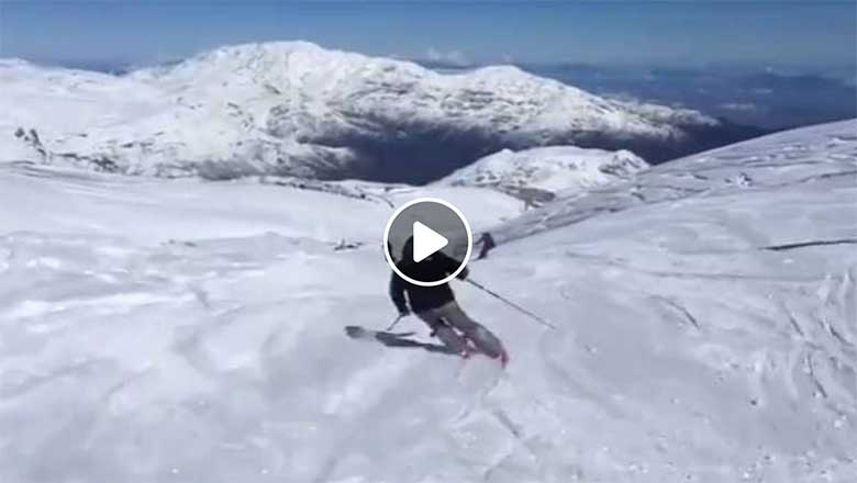 Watch Ski Racer Travis Ganong Freeski - EliteSkiing.com