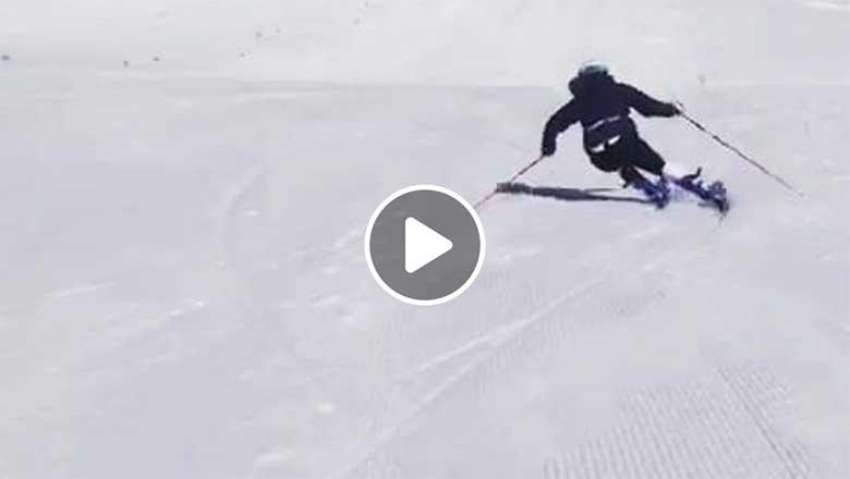 Racers Free Skiing - Jasmine Flury